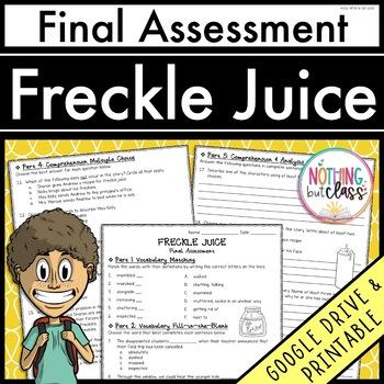 Freckle Juice: Final Test