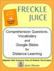 Freckle Juice comprehension questions and answers
