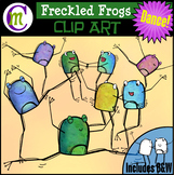 Freckled Frogs Clip Art | DANCE!