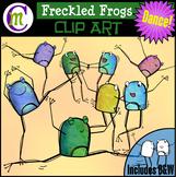 Freckled Frogs Clip Art   DANCE!