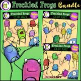 Freckled Frogs Clipart BUNDLE