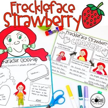 Freckleface Strawberry Read-Aloud Activity