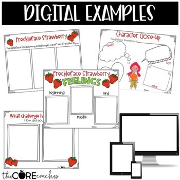 Freckleface Strawberry: Interactive Read-Aloud Lesson Plans and Activities