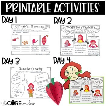 Freckleface Strawberry Interactive Read-Aloud | Distance Learning