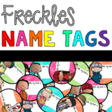 Freckles Name Tags