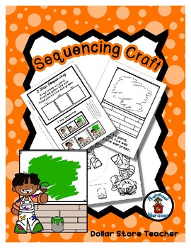 Fred Paints - Community Helper - Artist - Sequencing Reader Mat & Craft Page