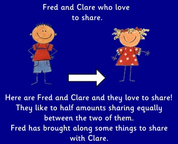 Fred and Clare who love to share