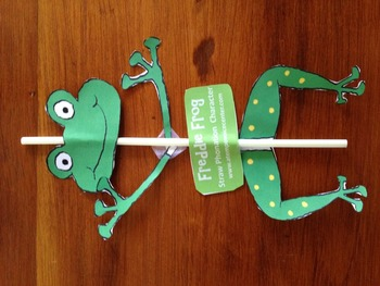 Freddie Frog (Straw Phonation Character)