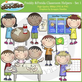 Freddy & Freida Classroom Helpers
