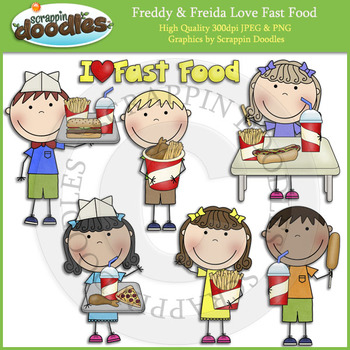 Freddy & Freida Love Fast Food