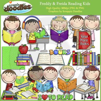 Freddy & Freida Reading Kids