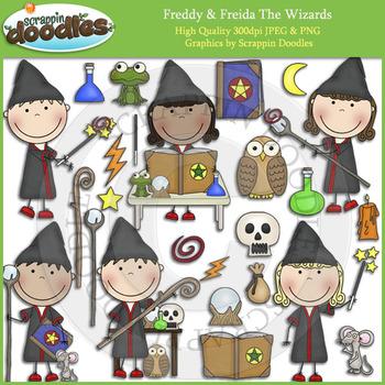 Freddy & Freida The Wizards