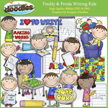 Freddy & Freida Writing Kids