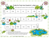 Freddy the Frog's Vowel Sounds of _y Literacy Station Game RF.1.3, RF.2.3