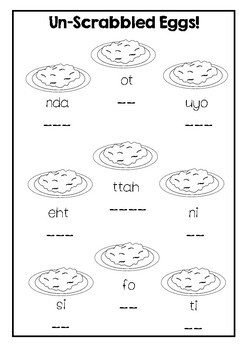 Fry Sight Words Pack 1 (Words 1-25)