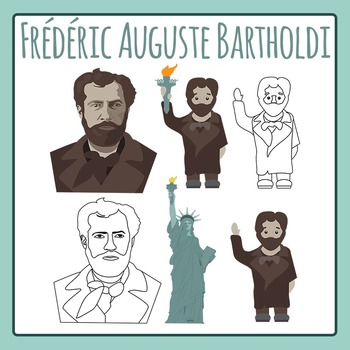 Frédéric Auguste Bartholdi: Sculptor of Statue of Liberty - Commercial Use