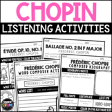 Frédéric Chopin Composer Listening Activities, March