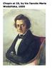 Frédéric Chopin Word Search