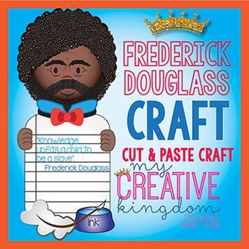 Frederick Douglas Black History Craft