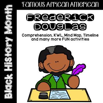Frederick Douglas Comprehension / Biography Pack - Black History Month