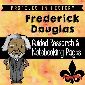 Frederick Douglas Guided Research Activity