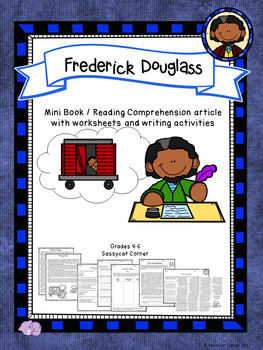 Frederick Douglas Mini Book Foldable and Comprehension Packet