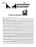 Frederick Douglas Research and interview Assignment