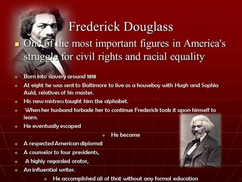 Frederick Douglass: Introduction & Reading Activity