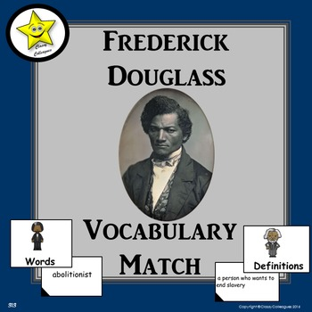 Frederick Douglass Vocabulary Match