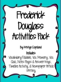 Frederick Douglass Activities Pack