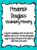 Frederick Douglass Activities Pack