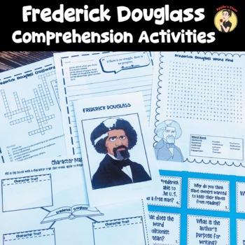 Frederick Douglass Activities Reading Comprehension