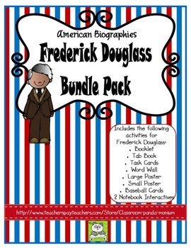 Frederick Douglass Bundle Pack (Task Cards Included)