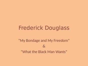 Frederick Douglass Analysis