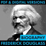 Frederick Douglass Biography Research Organizer, Douglass