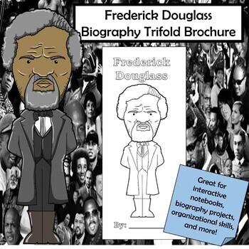 Frederick Douglass Biography Trifold Brochure