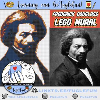 Frederick Douglass Black History Collaborative Lego Mural