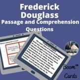 Frederick Douglass Boom™ Cards™ passage and questions -digital