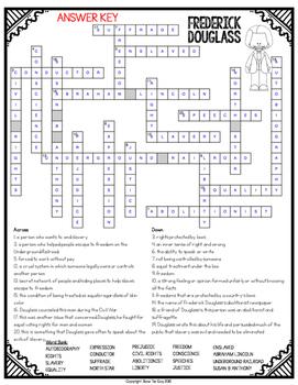 Frederick Douglass Crossword