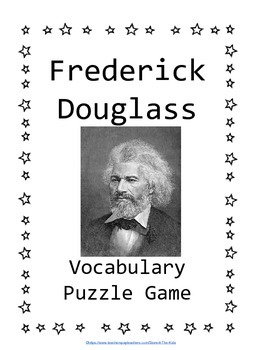 Frederick Douglass Differentiated Puzzle Game