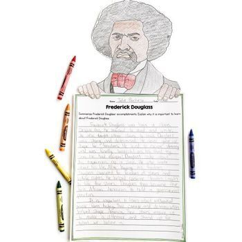 Frederick Douglass Differentiated Reading and Writing Activities