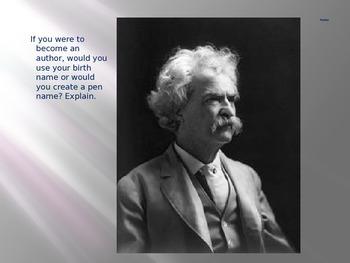 Mark Twain: Essential Journal Questions