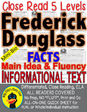Frederick Douglass FACTS ALL-READERS-COVERED Close Read 5 Levels