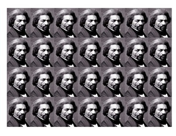 Frederick Douglass Historical Stick Figure (Mini-biography)
