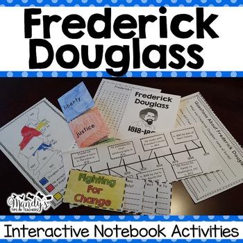 Frederick Douglass : Interactive Notebook Activities