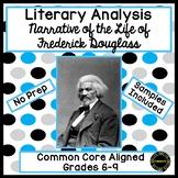 Frederick Douglass Literary Analysis