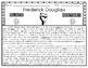 Frederick Douglass: Main Idea: KWL Chart, Reading Comprehension