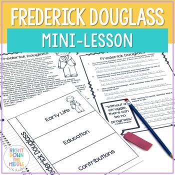 Frederick Douglass Mini-Lesson