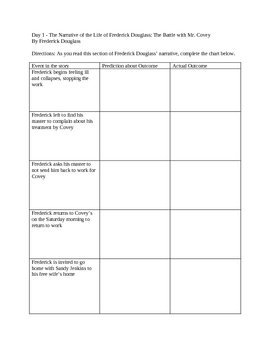 Frederick Douglass Mini Unit - Bio Scavenger Hunt, Jigsaw Activity