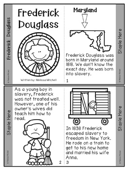 Frederick Douglass Mini-Unit for Black History